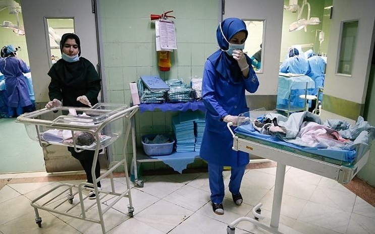 بیمارستان خود کانون انتقال است شهروندان مراجعه نکنند