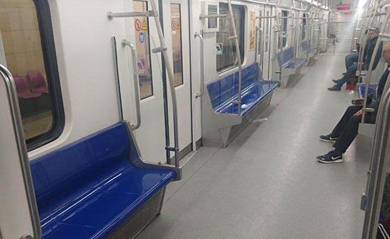 متروی تهران پس از شیوع کرونا در پایتخت + عکس