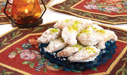 طرز تهیه ی قطاب خانگی ؛ شیرینی مخصوص عید