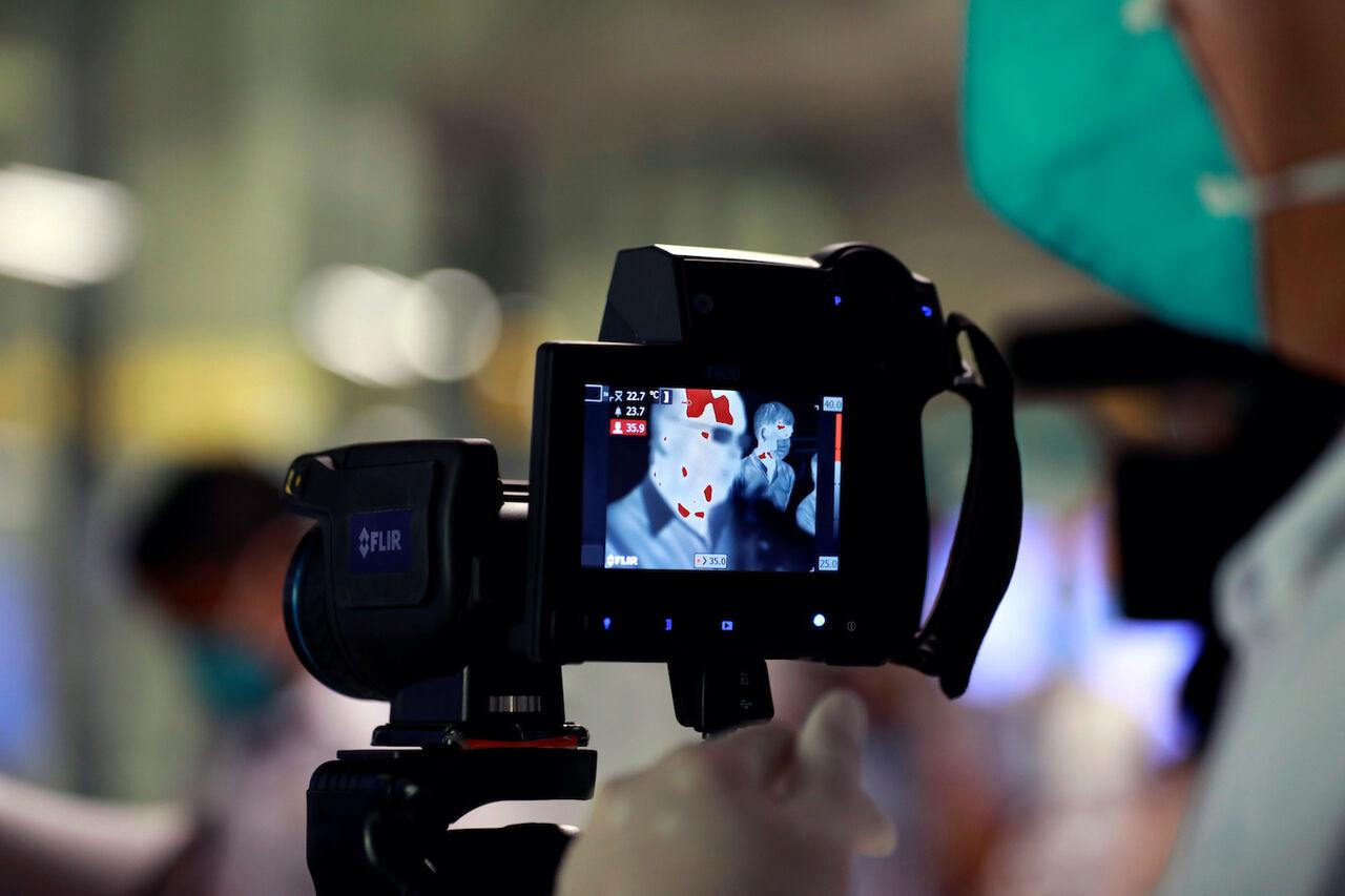 دوربین حرارتی برای کنترل شیوع کرونا در سازمان پسماند شهرداری تهران نصب شد