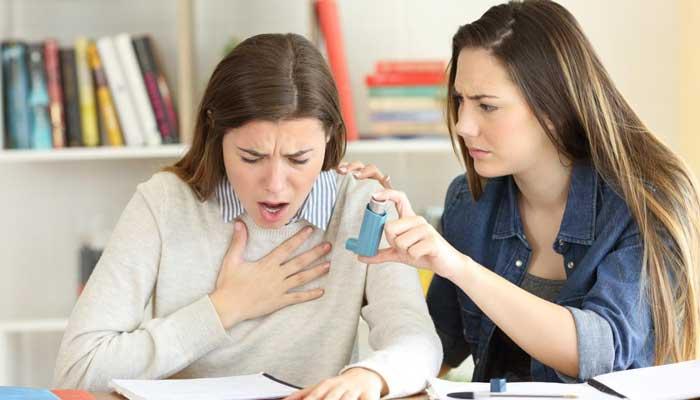 ۷ درمان خانگی برای تنگی نفس
