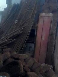 خسارتهای سیل ویرانگر به خانههای روستایی + تصاویر