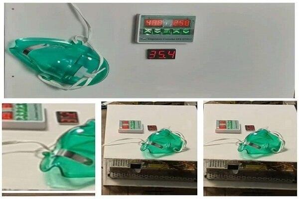 ماسک حرارتی گرمکننده ریه برای مقابله با کرونا تولید شد + عکس