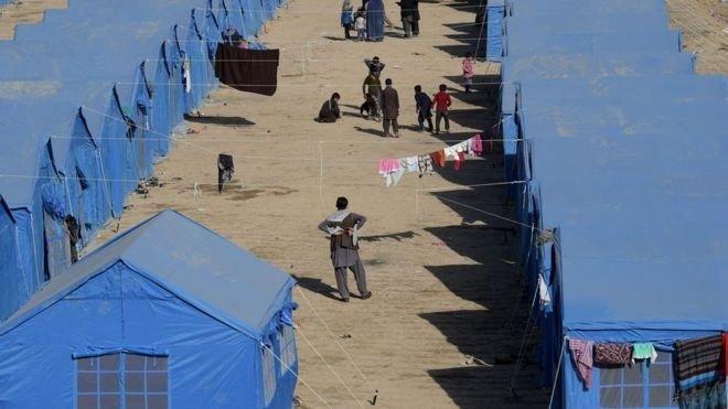 قرنطینه کمپ پناهجویان در یونان+ عکس