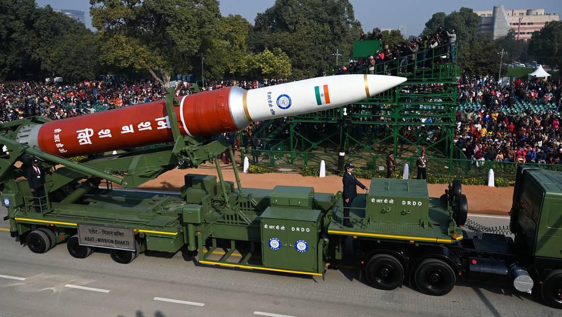 رونمایی از سلاح ضدماهواره؛ نمایش قدرت فضایی هند +تصویر