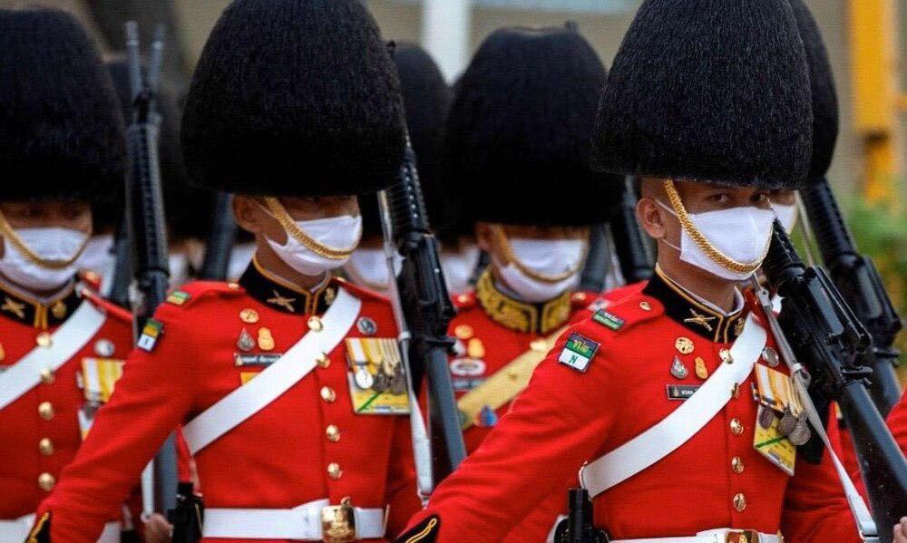 شمایل جدید گارد سلطنتی بریتانیا + عکس