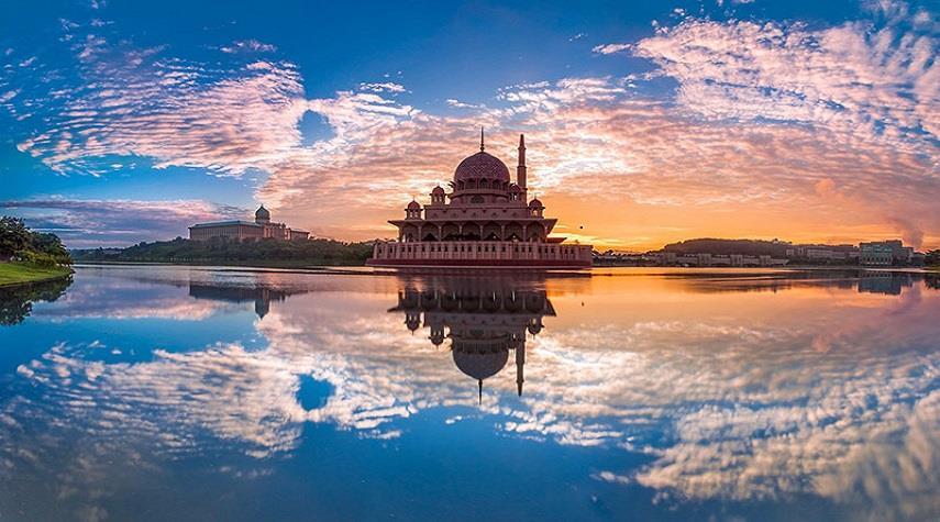 مسجد پوترا مالزی ، یکی از زیباترین مساجد جهان