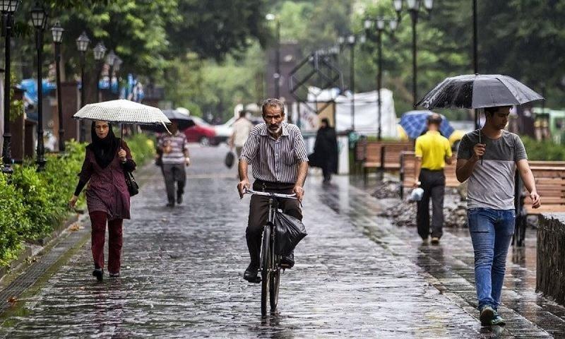 کشور از روز شنبه بارانی میشود