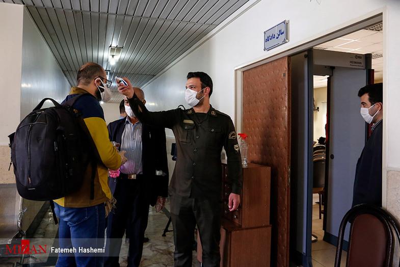 تب سنجی قبل از دادگاه ۲۱ اخلالگر نظام اقتصادی + عکس