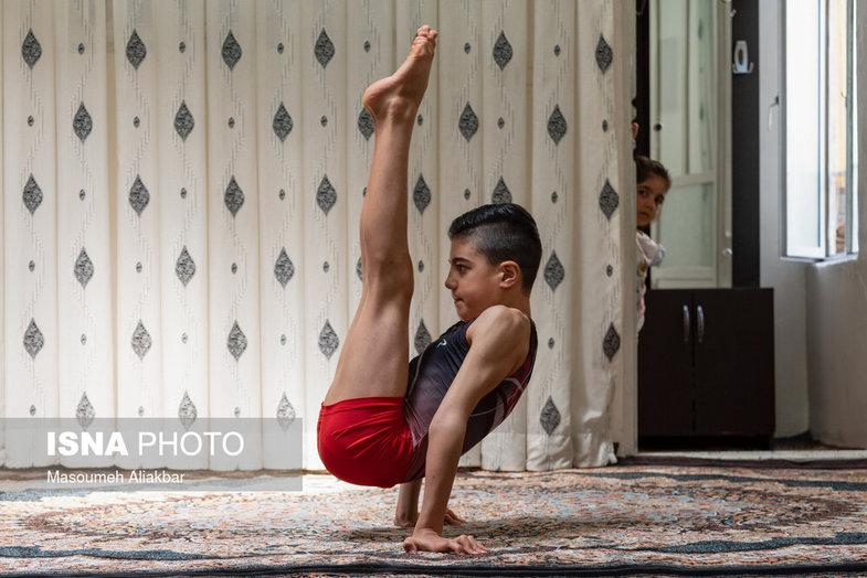 تمرین ورزشکاران در شرایط کرونایی+ تصاویر