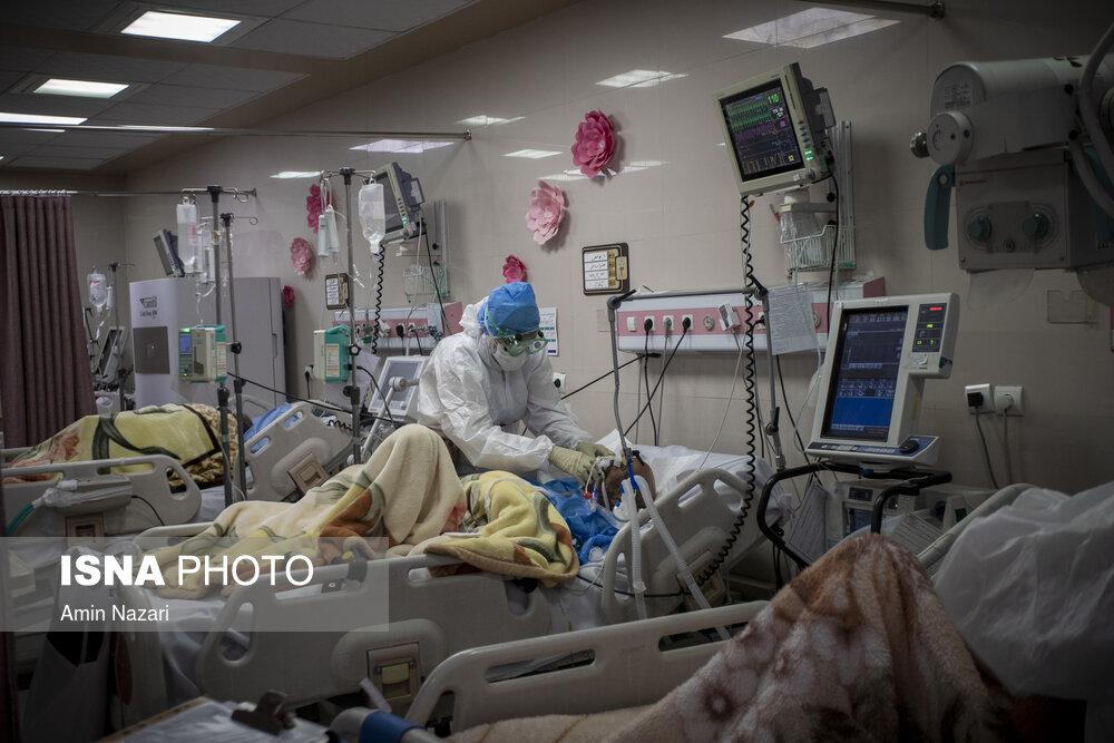 زنگ خطر کرونا در بیمارستان رازی اهواز + عکس