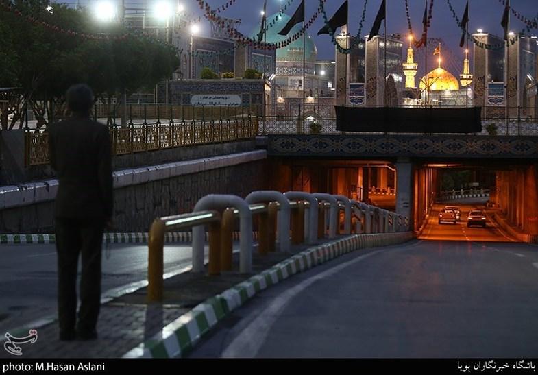 حوالی حرم امام رضا(ع) در شب قدر+ تصاویر