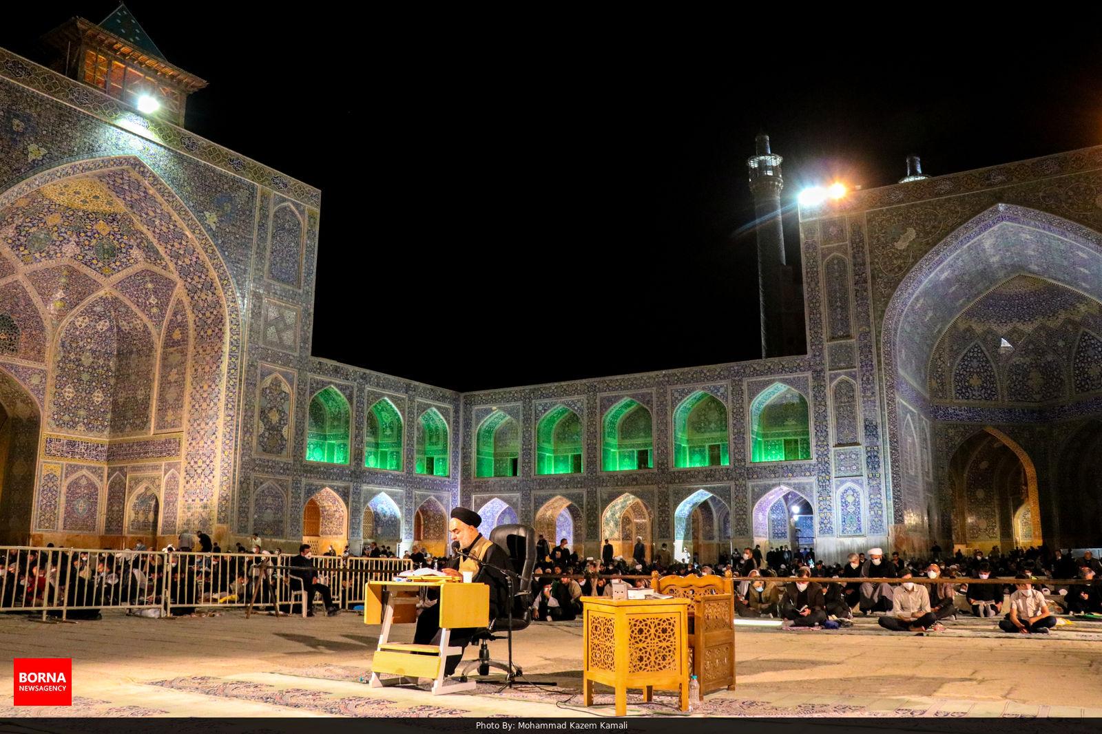 مراسم احیا در میدان امام اصفهان + عکس