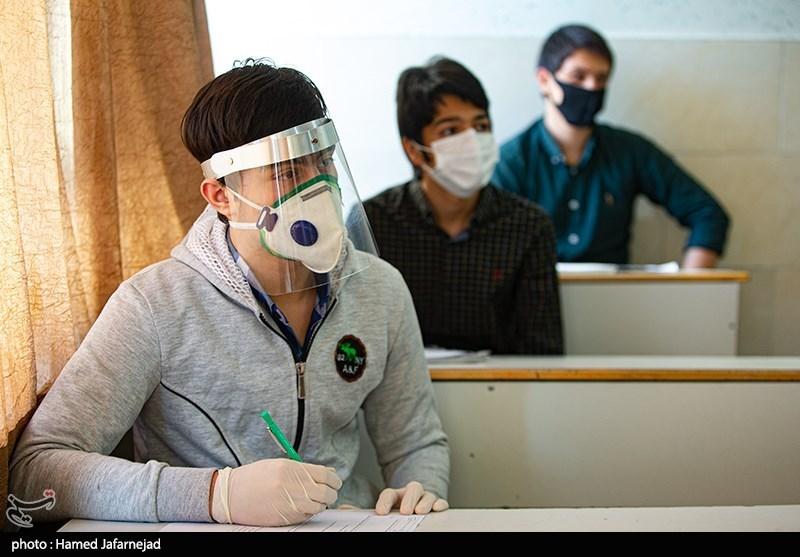دانش آموزانی که با تجهیزات کامل به مدرسه رفتند + عکس