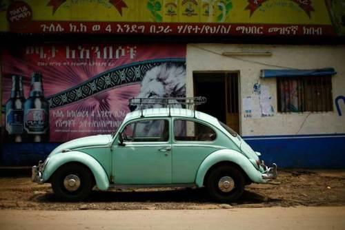 خودروی محبوب مردم اتیوپی+ عکس