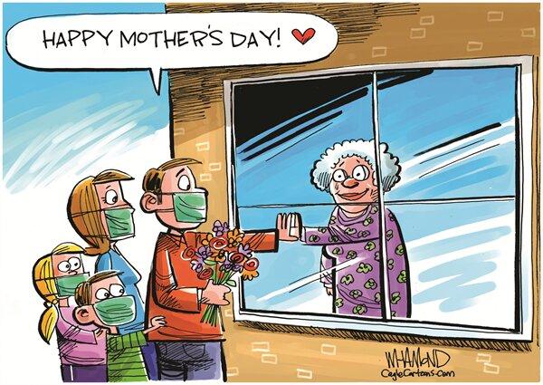 کرونا روز جهانی مادر را هم خراب کرد! + عکس