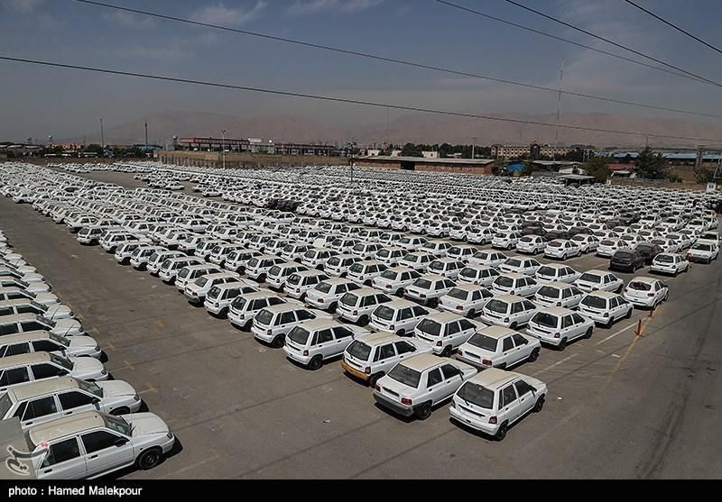 معمای پارکینگ سایپا +عکس