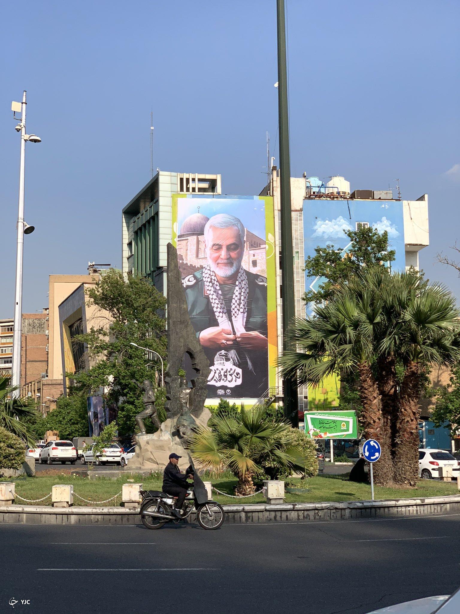 حاج قاسم سلیمانی در فلسطین +عکس