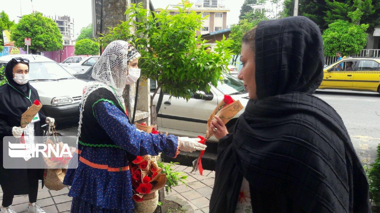 پویش همشهری بخند در تنکابن! + عکس