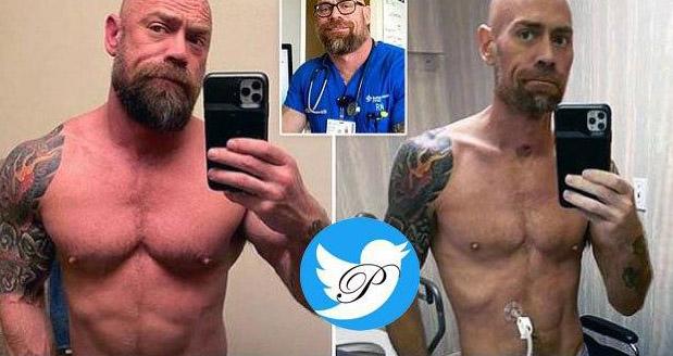 پرستاری که بعد از ۵۷ روز مبارزه با کرونا ۲۲ کیلو کم کرد + عکس