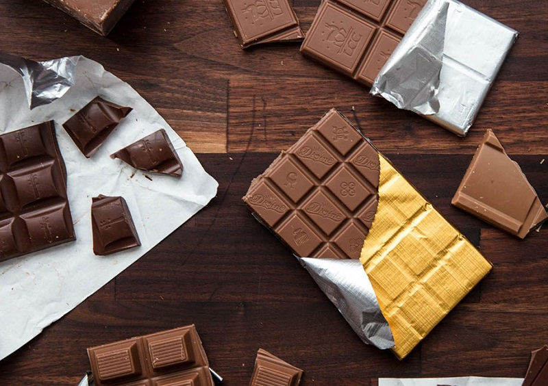 شکلات تلخ بخورید ۲ برابر لاغر شوید