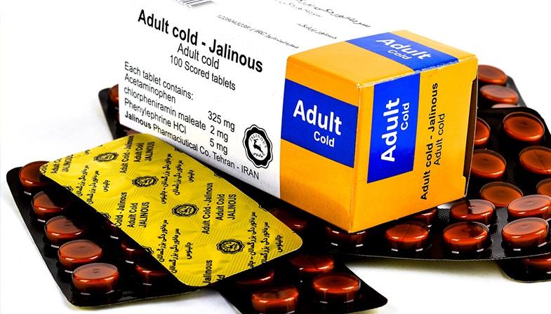 آشنایی با قرص سرماخوردگی بزرگسالان Adult cold