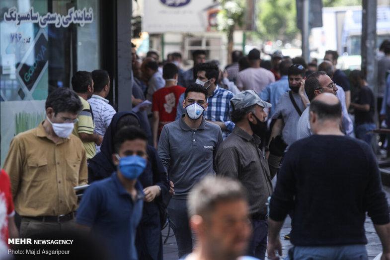 روزهای شلوغ تهران+ عکس