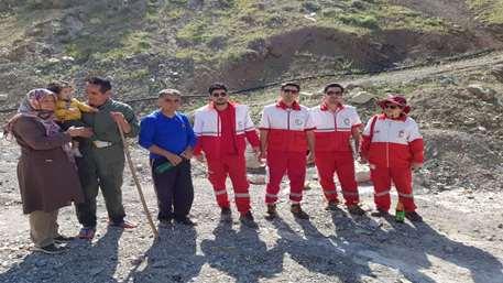 کوهنورد مفقود شده در ارتفاعات لانیز کرج نجات یافت+ عکس