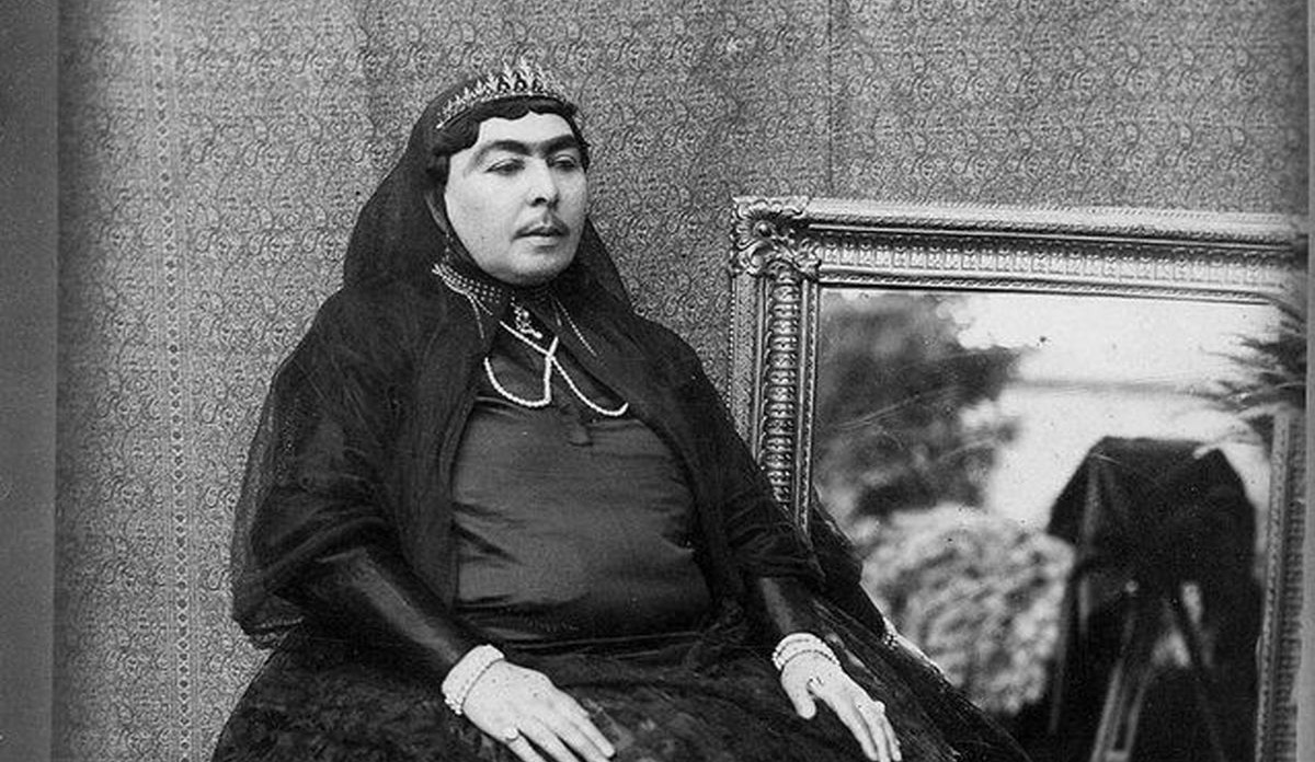 شمس الدوله یکی از زنان ناصرالدین شاه + عکس