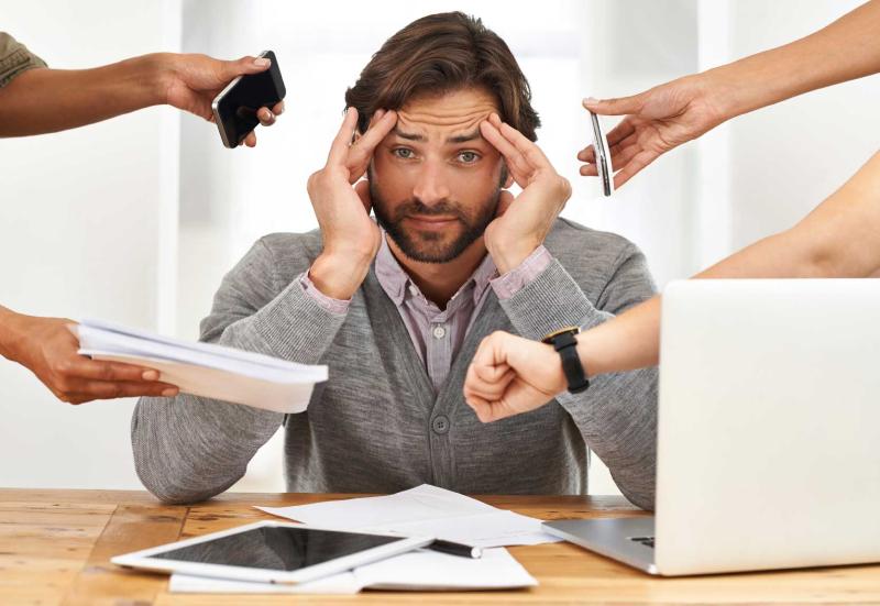 استرس برای آقایان ممنوع+ دلایل
