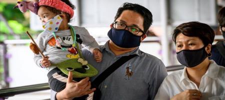 هشدار: برای کودکان ماسک صورت نزنید