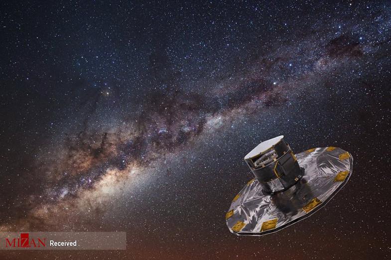 تصاویری زیبا از کهکشان راه شیری + عکس