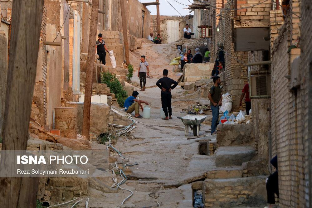 بی آبی در «حصیر آباد» اهواز + عکس