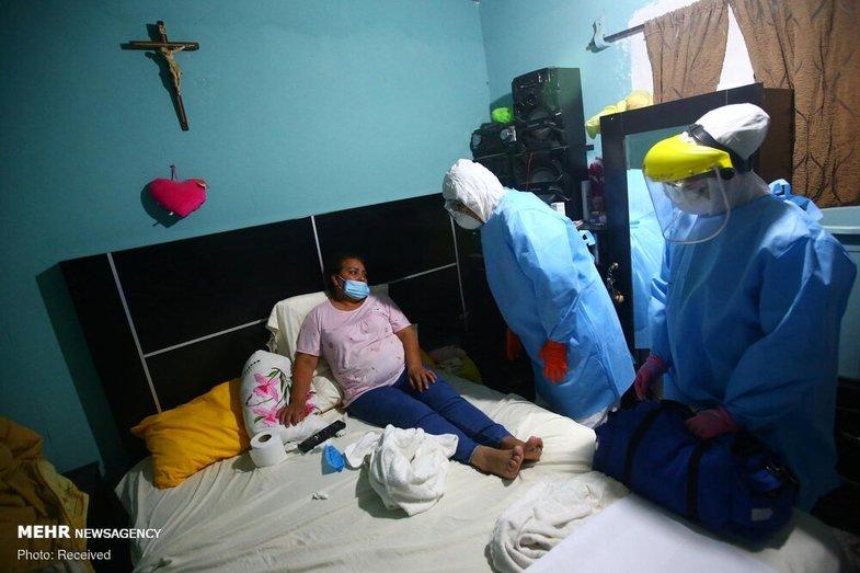 افزایش شمار قربانیان و مبتلایان کرونا در مکزیک + عکس