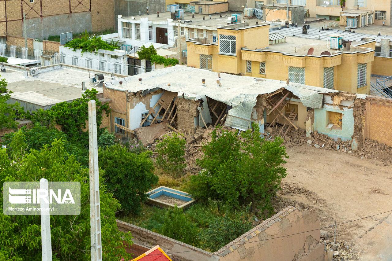 منزل تخریب شده پدر سنتور ایران + عکس