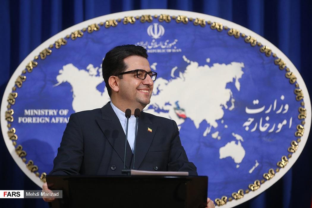 ژست های جالب سخنگوی وزارت امور خارجه! + عکس