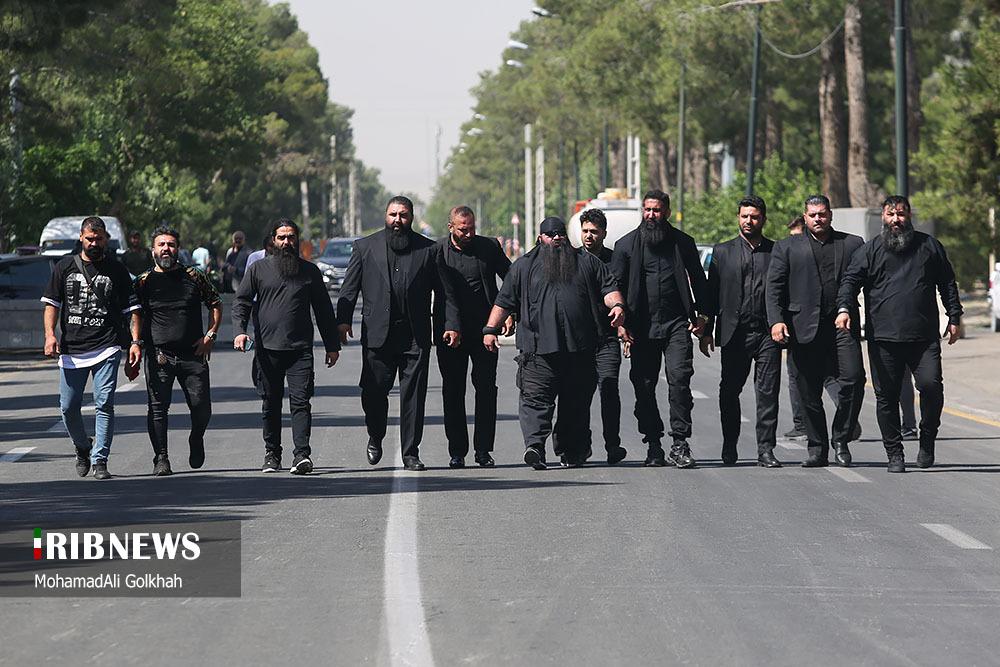 شرکت کنندگان خاص در مراسم خاکسپاری محمدعلی کشاورز! + عکس