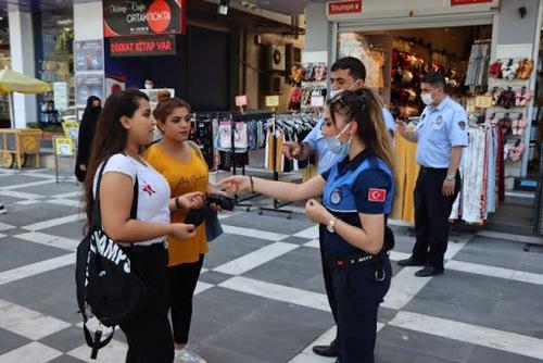 اجباری شدن ماسک در 42 استان ترکیه + تصاویر