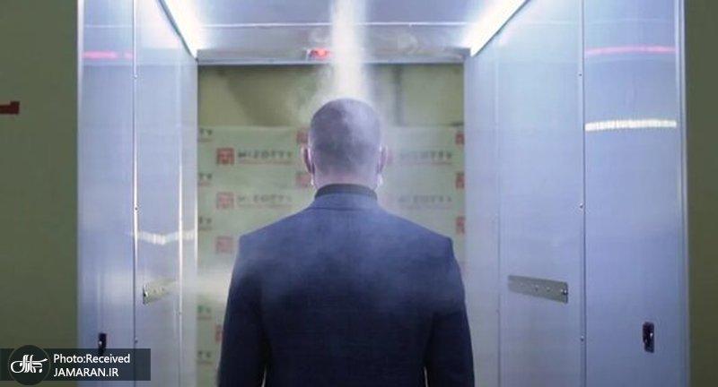 تونل ویژه کرونا برای محافظت از پوتین + عکس