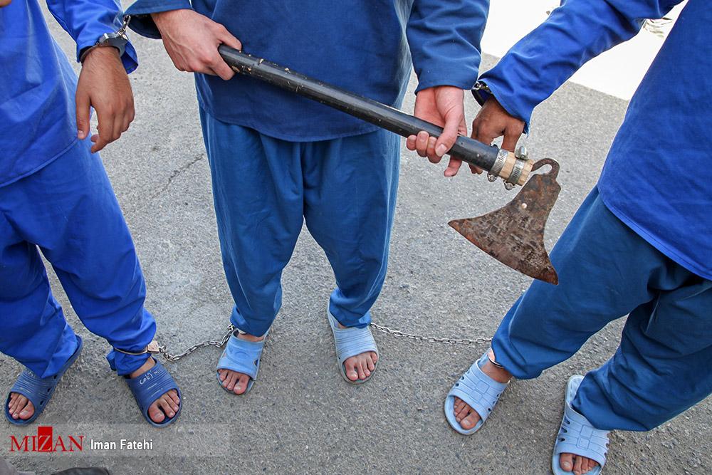 تبر در دست سارقین زورگیر! + عکس