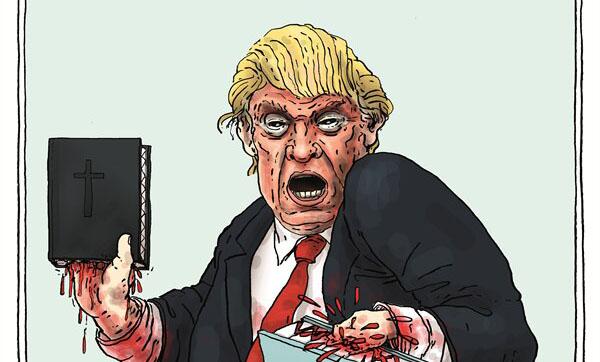 این دو کتاب، جان ترامپ را تهدید میکنند! + عکس