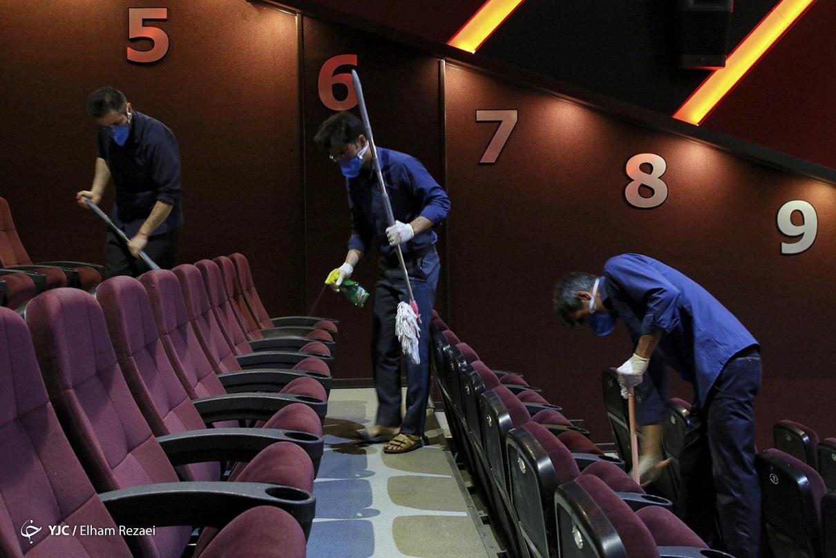 پروتکلهای بهداشتی برای بازگشایی سینماها  + عکس