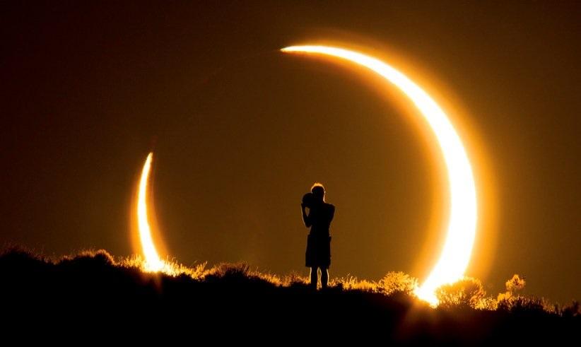 آخرین خورشیدگرفتگی قرن آغاز شد