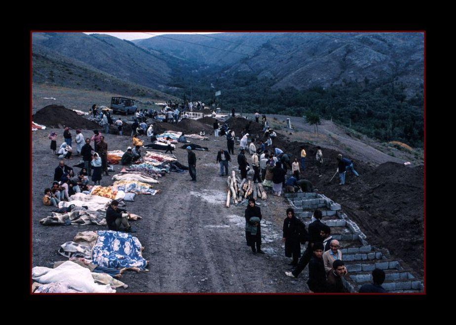 زلزله رودبار به روایت محمد فرنود + تصاویر