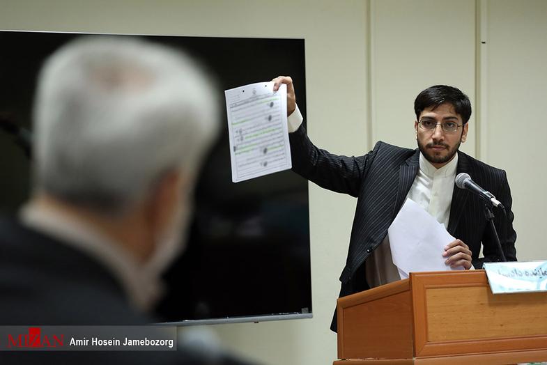 مدارک نماینده دادستان در دادگاه متهم فساد خودروسازی + عکس