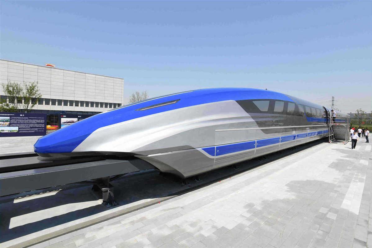 قطار سریع السیر جدید چینی + عکس