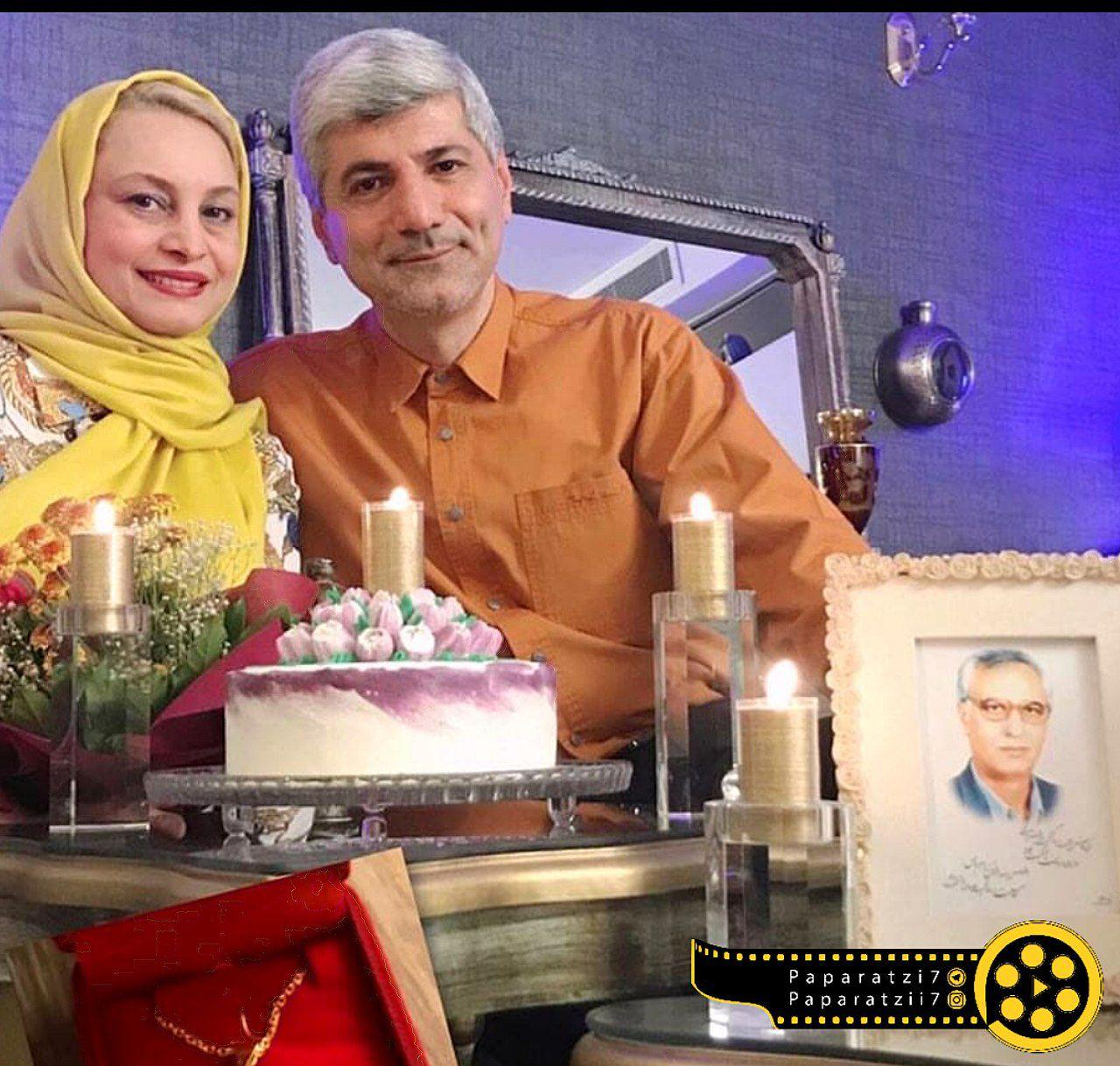 تولد ۵۰ سالگی مریم کاویانی کنار همسر سیاستمدارش +عکس