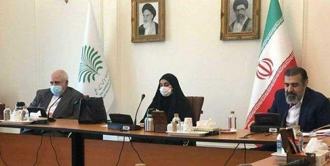 دلیل حضور دختر سردار سلیمانی در وزارت خارجه + عکس