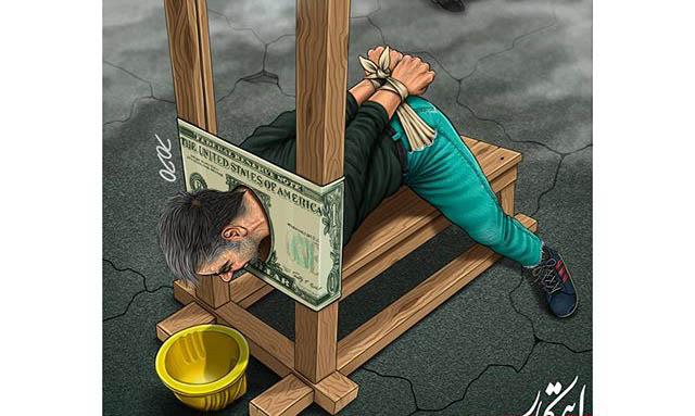 اوضاع کارگران و گرانی دلار + عکس