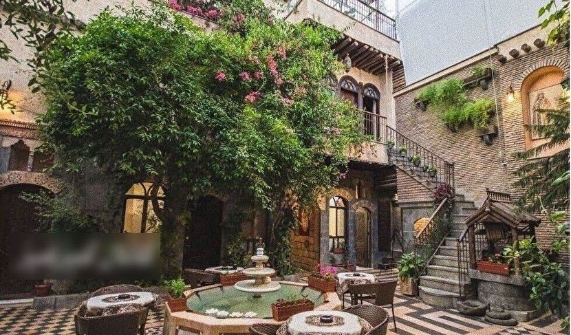 خانه زیبای نزار قبانی شاعر عرب زبان در دمشق + عکس